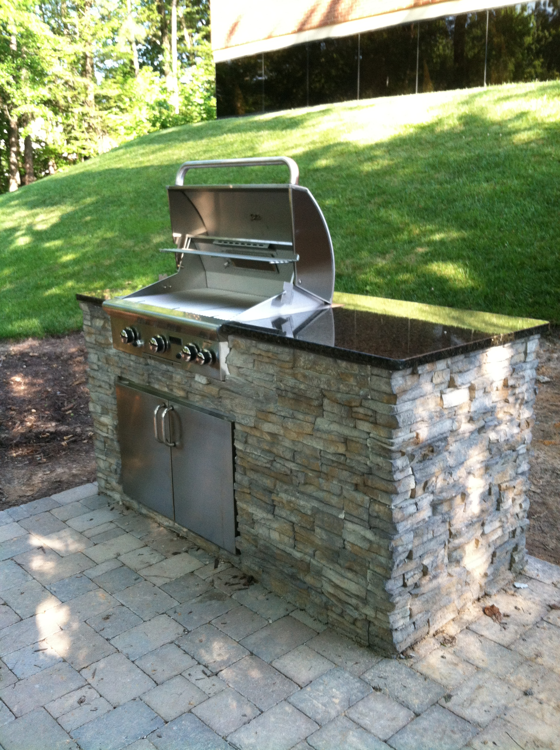 31 Outdoor kitchen on a budget on Patio Kitchen id=12419