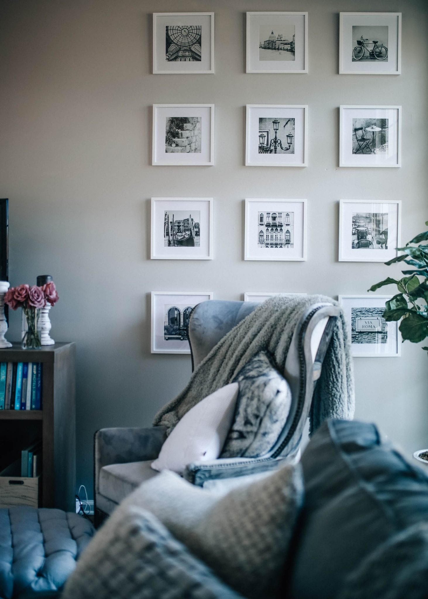 Grid Style Gallery Wall Set Of 12 Ideas For Decorating A