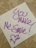 You make Me Smile!