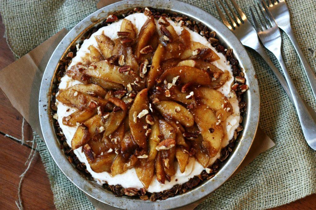 Inside-Out Apple Pie