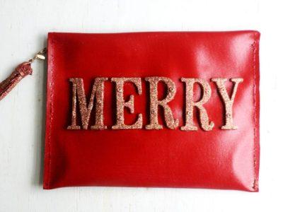 Holiday Clutch DIY + Date Night Essentials!