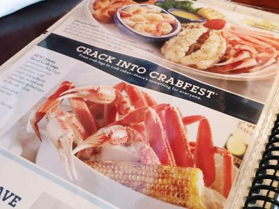 Sponsored Post: Crabfest at Red Lobster!