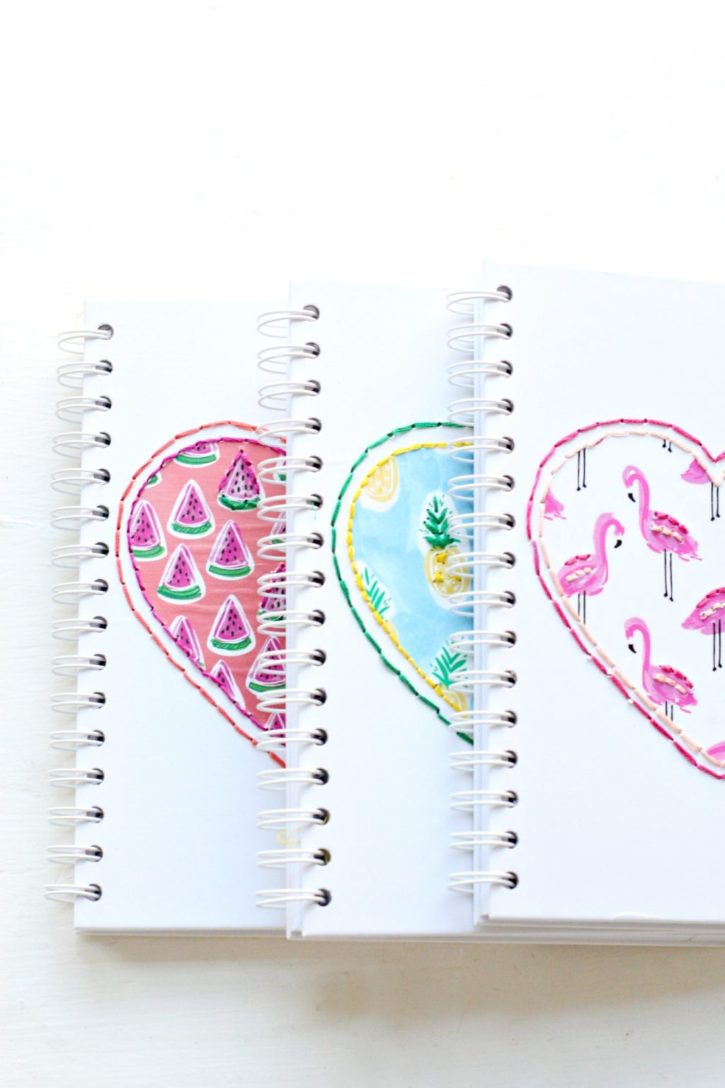 Diy Stitched Notebooks The Pretty Life Girls