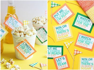 Printable Game Day Treat Tags