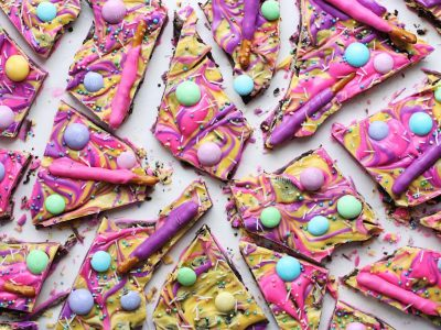 Layered Cookie Crunch Bark