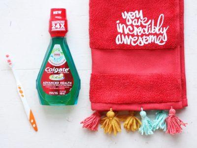 DIY Pep Talk Hand Towel