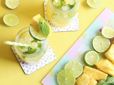 Summer Fun with Snapfish + a Sparkling Pineapple Mojito Mocktail Recipe!