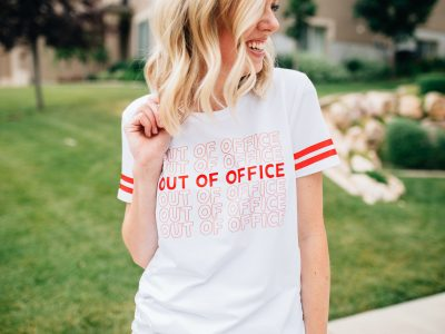 DIY Out of Office T-Shirt