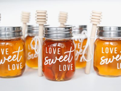 "DIY ""Love, Sweet Love"" Honey Jars"