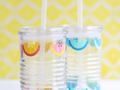 DIY Lemon Drink Jars