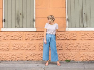 How to Wear Culottes: Two Ways!