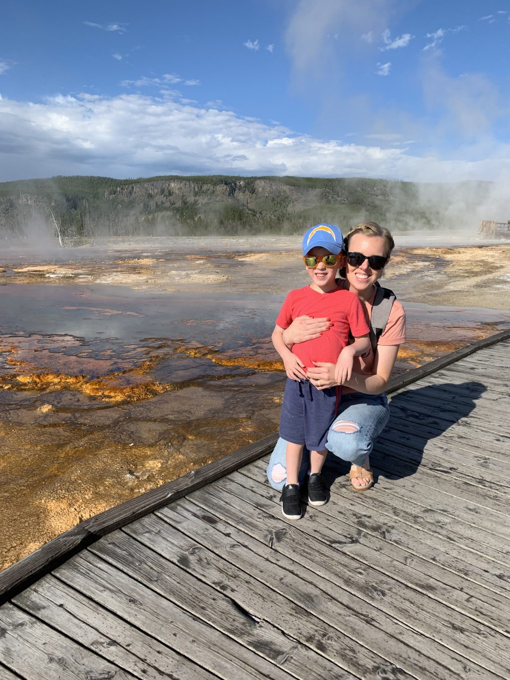 west yellowstone with kids 2