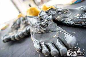 Vibram Five Fingers is actually the official shoe of Warrior Dash, one of the most popular obstacle races in the country.
