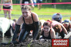 Can't help it- I love mud! Krystal did great!
