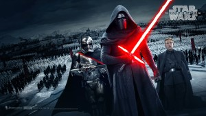Kylo Ren- doesn't he look awesome!?