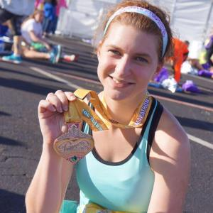 Probably one of my favorite all time races- Princess half marathon!