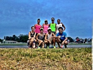 Track run with the F2R crew!
