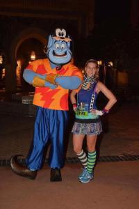The Genie and I! I've never seen him in the parks so I was excited!