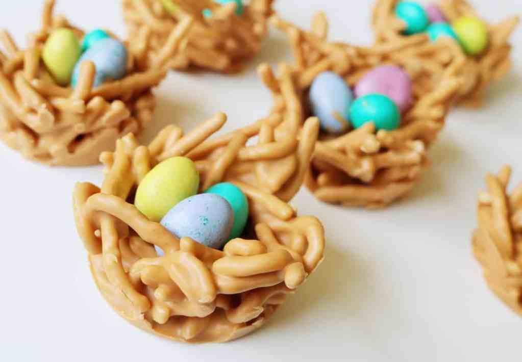 Easter Haystack Nests