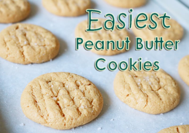 Peanut Butter (and Chocolate) Cookies