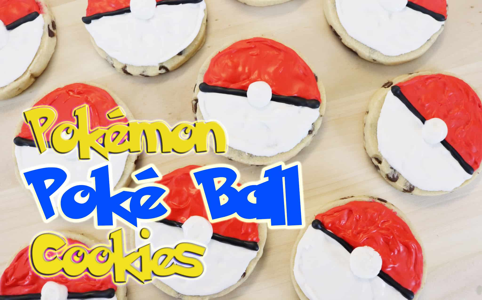 Poké Ball Cookies