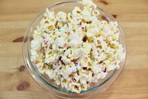 Sprinkles Make Everything Better Even If You Keep The Color White Check Out Pic Above And Can See That Popcorn