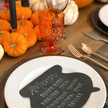 Fall Themed Dinner Party