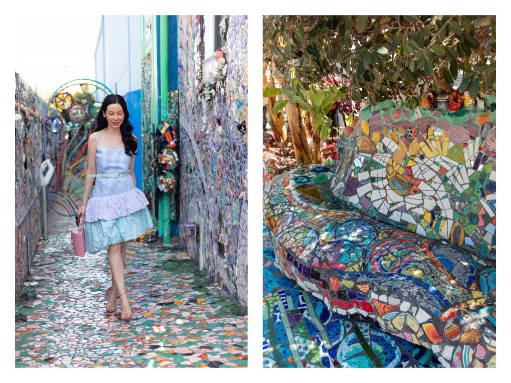 a visit to the mosaic tile house