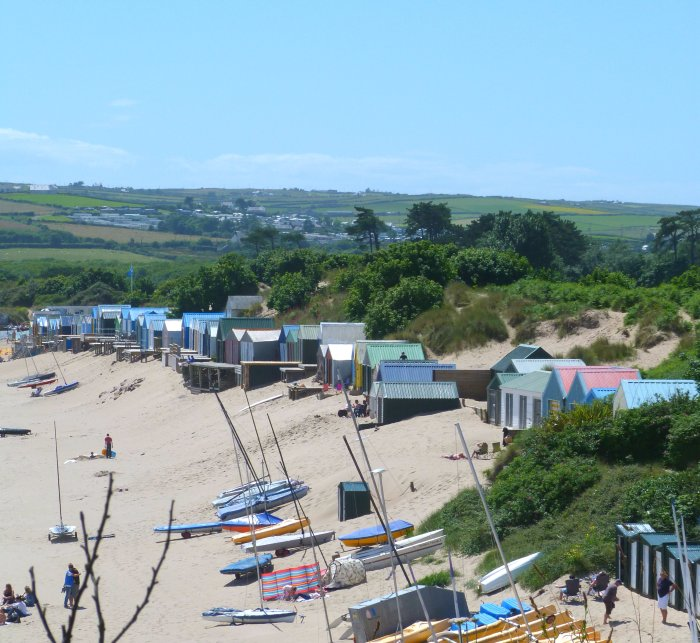 abersoch main beach