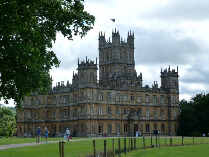 visiter downton abbey