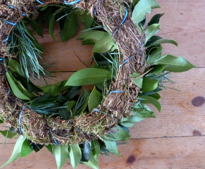 couronne de Noël naturelle diy