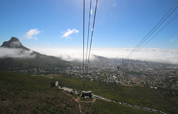 table mountain telepherique