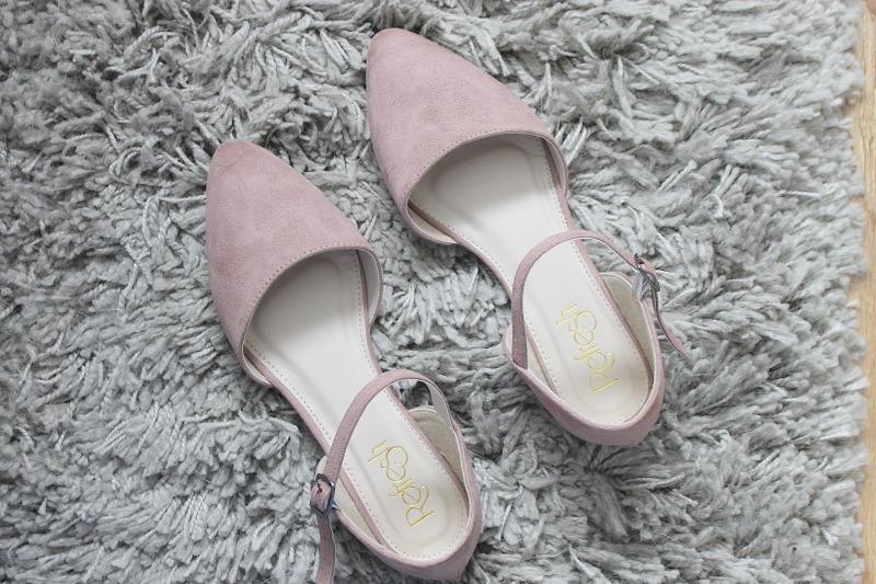 Pink Ballet Flats