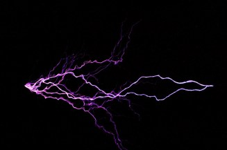 High Voltage Sparks by Alan Richmond