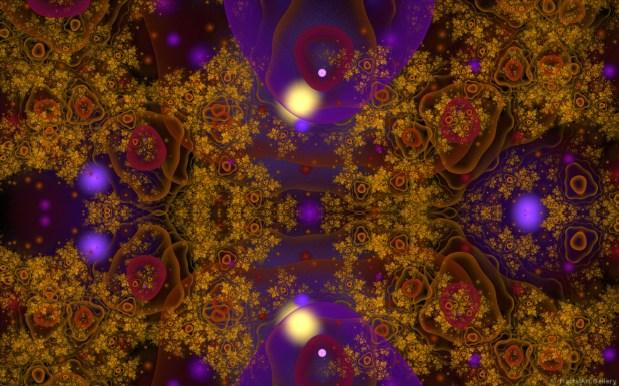 Multicellular LifeMandrian by Alan Richmond