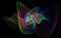Spectral Harmonograph by Alan Richmond
