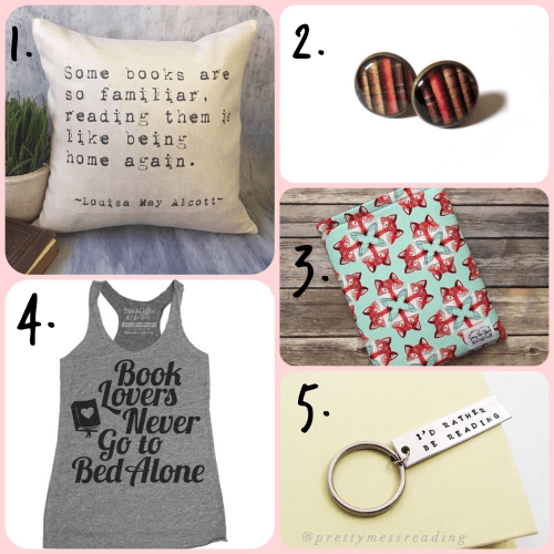 5 Book Lovers Etsy's Finds