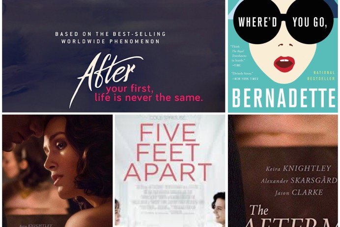 10 Books To Movie 2019