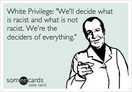 White Privilege Meme