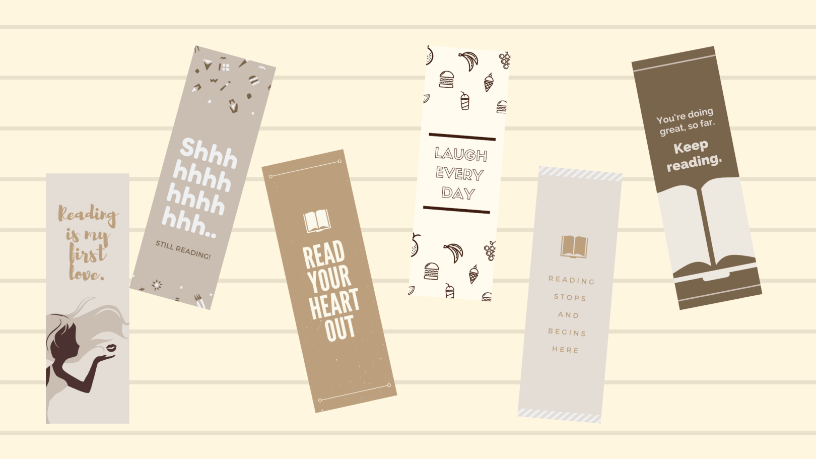 printable bookmarks for book lovers
