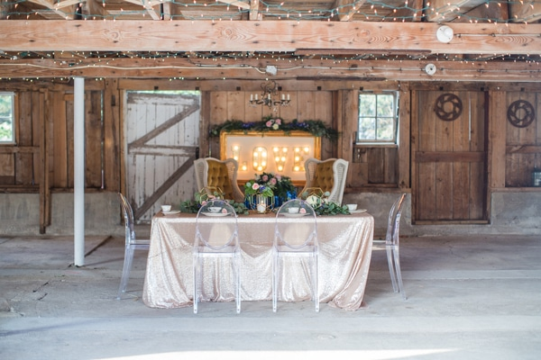 Rustic Glam Wedding Styled Shoot