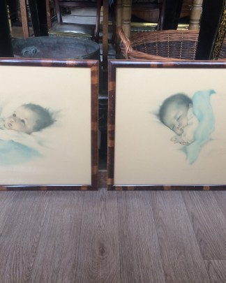 Pair of baby prints
