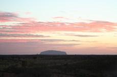 Uluru in the morning