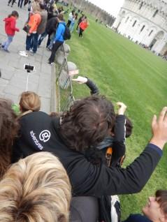 Selfies in Pisa