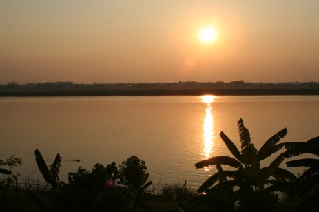 Don't miss the Mekong sunset