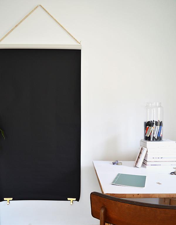 Black-poster-hanging