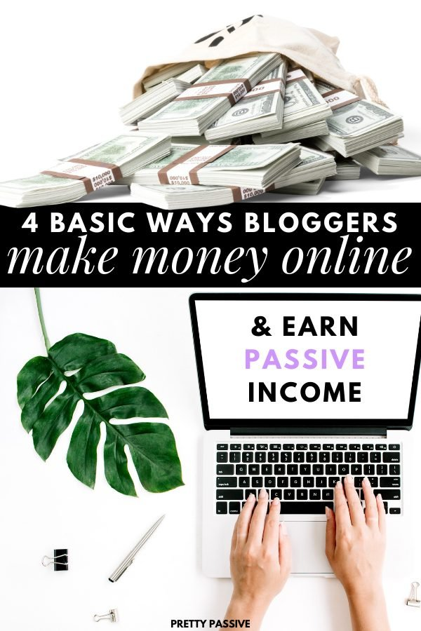 easy and shockingly basic ways bloggers make money online and generate passive income streams from a silly website