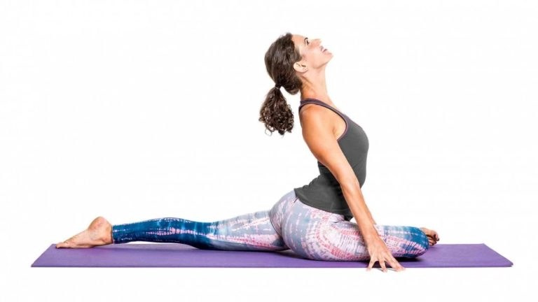 yoga poses for a successful vbac - pigeon pose