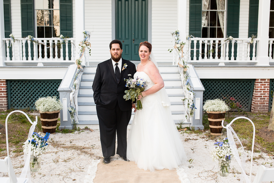 {Real Wedding} Rustic Estate And Barn Florida Wedding