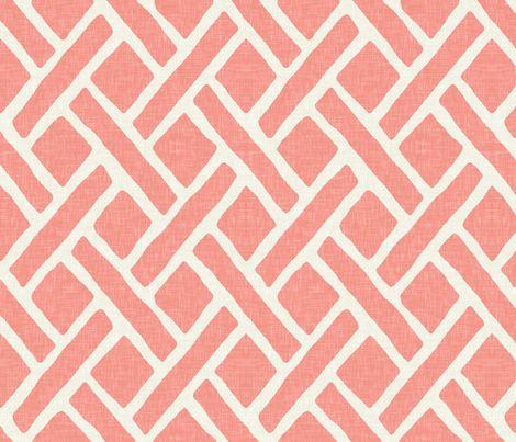 coral textile